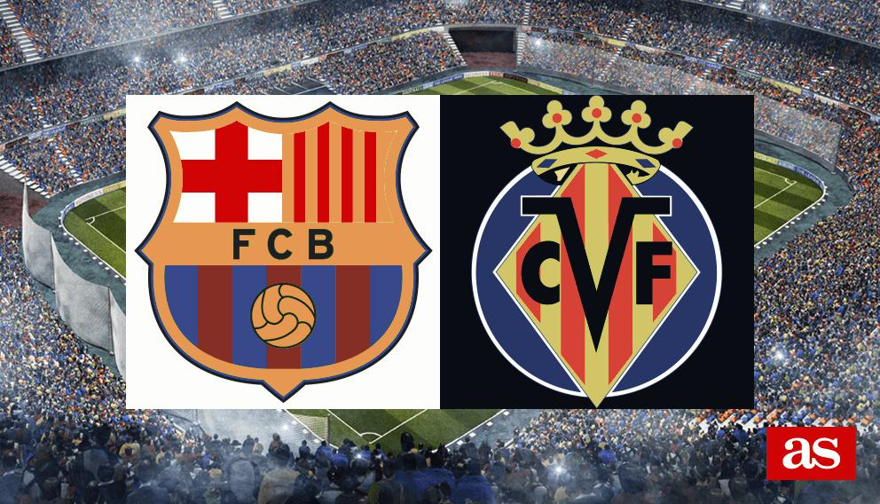 Barcelona vs. Villarreal live: LaLiga Santander 2016/2017 - AS.com
