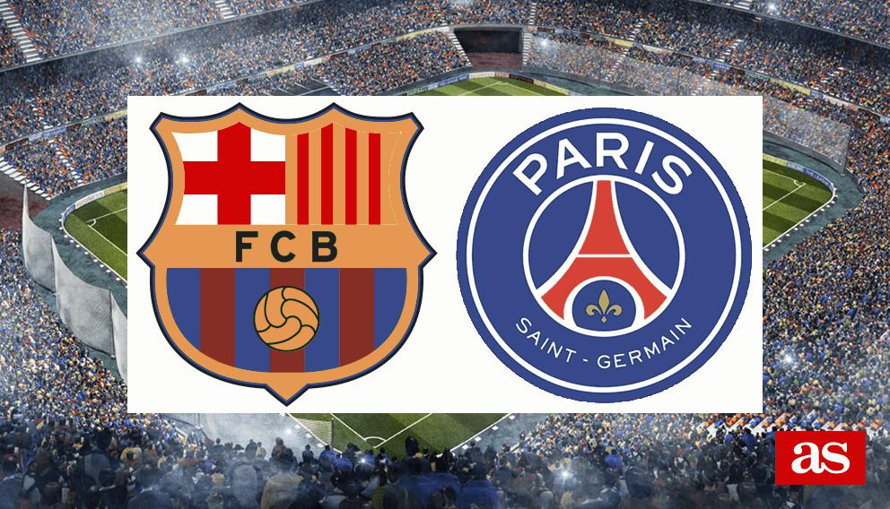 Barcelona vs. PSG live: Champions League 2016/2017 - AS.com