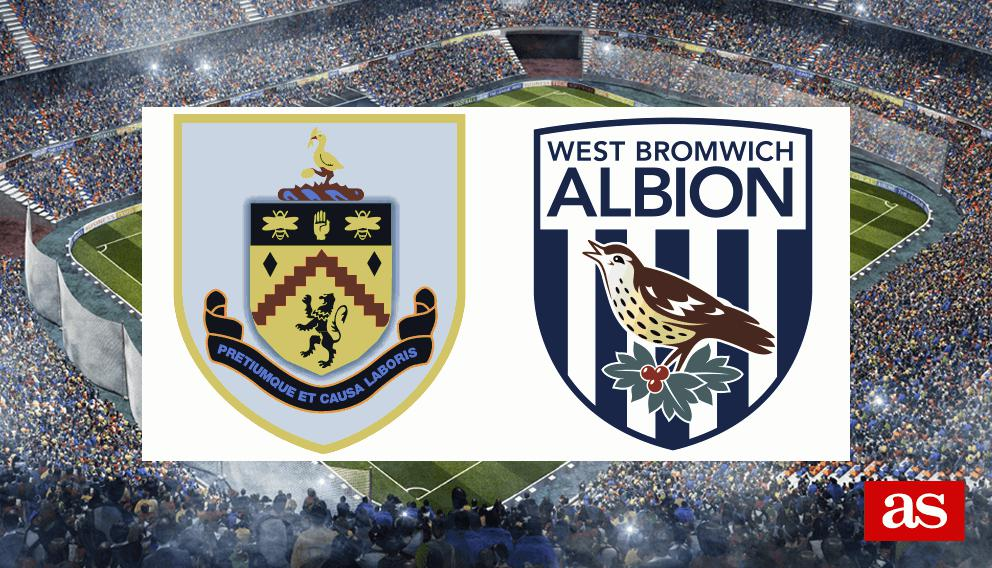 Burnley vs. WBA live: Premier League 2016/2017 - AS.com