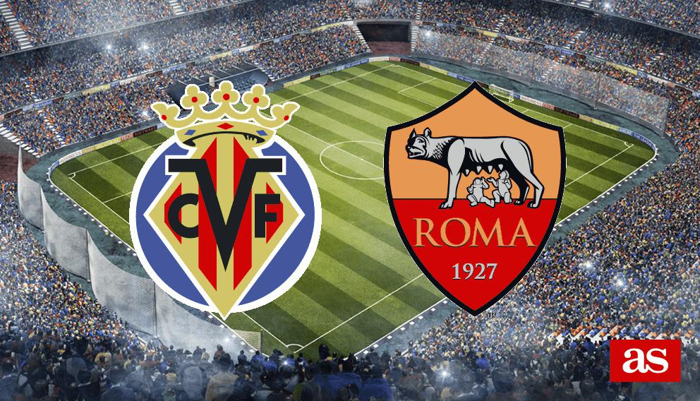 Villarreal vs. Roma live: Europa League 2016/2017 - AS.com