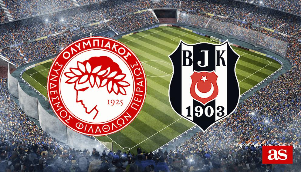 Olympiacos vs. Besiktas live: Europa League 2016/2017 - AS.com