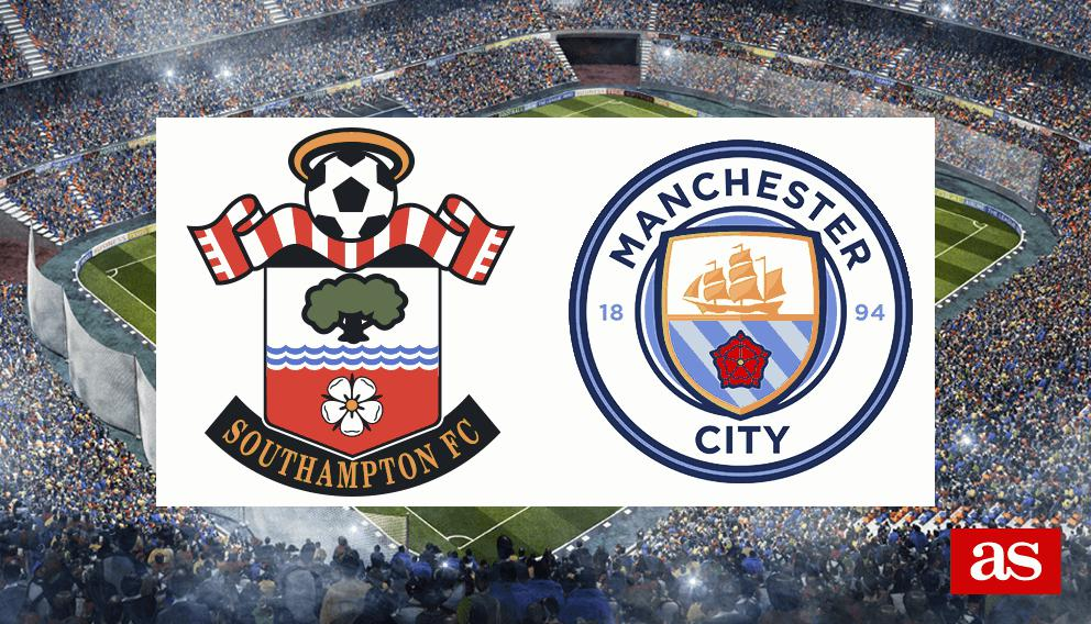 Southampton vs. M. City live: Premier League 2016/2017 - AS.com