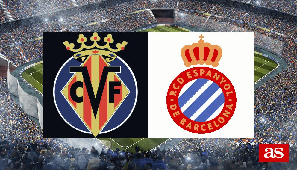 Villarreal vs. Espanyol live: LaLiga Santander 2016/2017 - AS.com