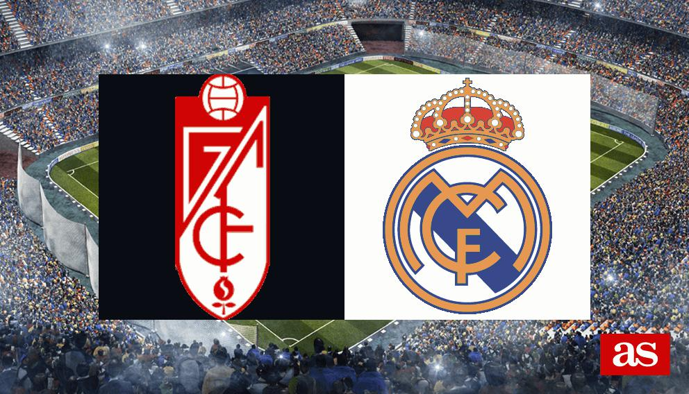 Granada vs. Real Madrid live: LaLiga Santander 2016/2017 - AS.com