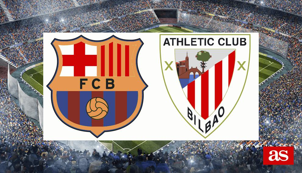 Barcelona - Athletic Bilbao live online: Week 21 LaLiga 2017