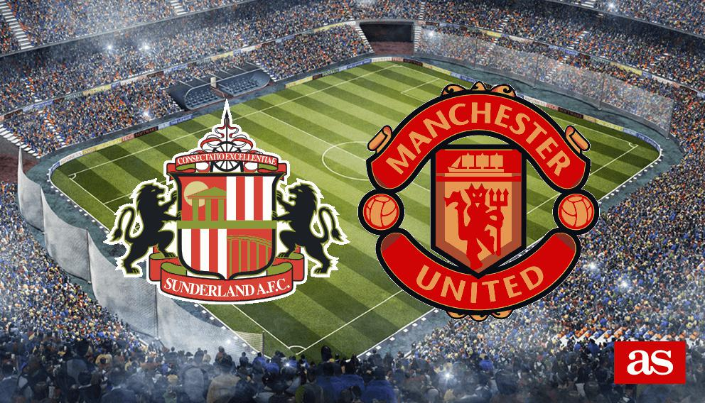 Sunderland vs. M. United live: Premier League 2016/2017 - AS.com