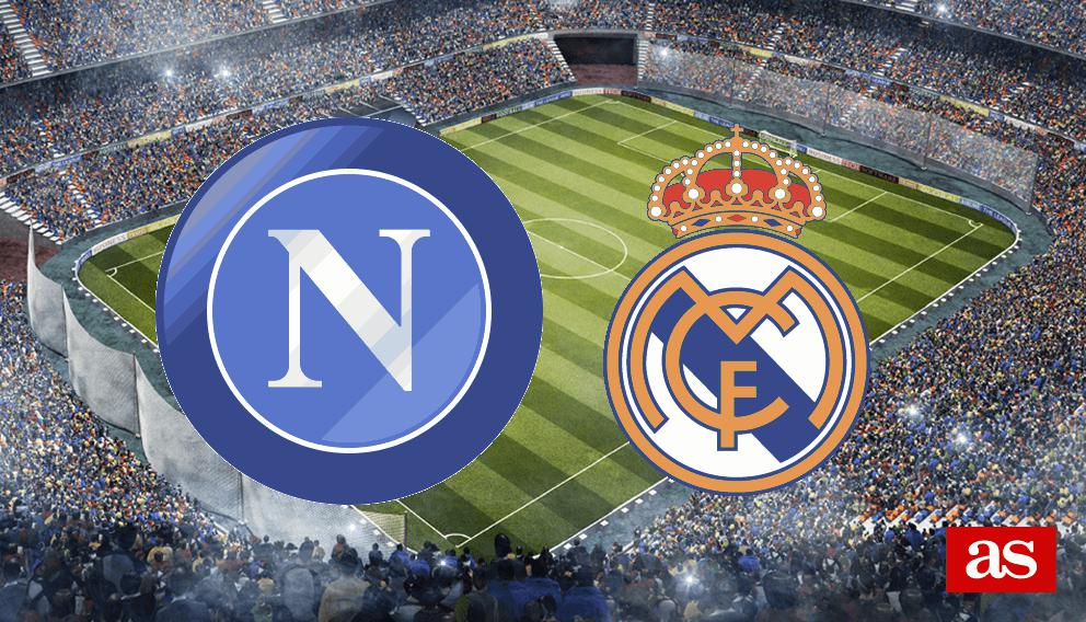 Nápoles - Real Madrid en vivo y en directo online: Champions League 2016/2017