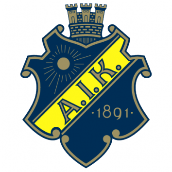 Badge/Flag AIK Solna