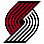 Badge/Flag Portland Trail Blazers