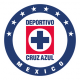 Insignia / bandera de Cruz Azul