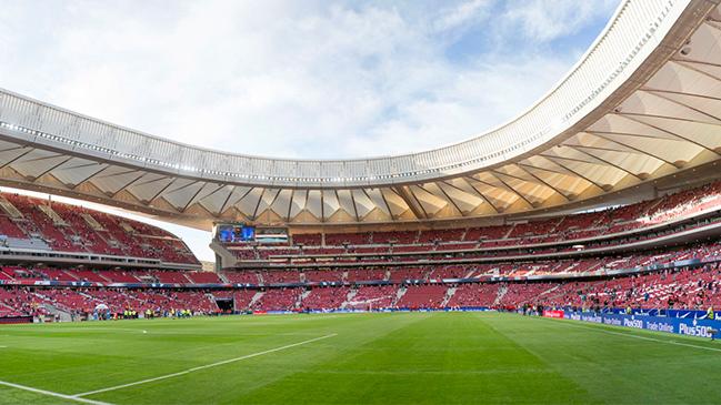 Wanda Metropolitano Atletico Madrid Wins Europa League