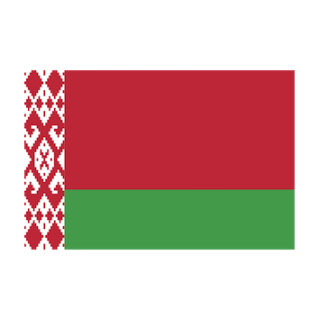 Flag for Bielorrusia