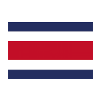 Flag for Costa Rica
