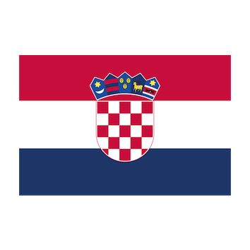 Flag for Croacia