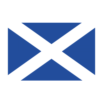 Flag for Escocia