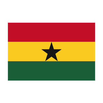Flag for Ghana