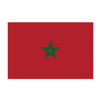 Flag for Marruecos