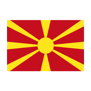 Flag for Macedonia