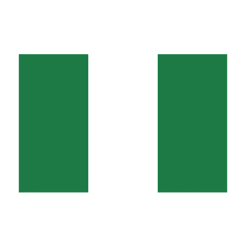 Flag for Nigeria