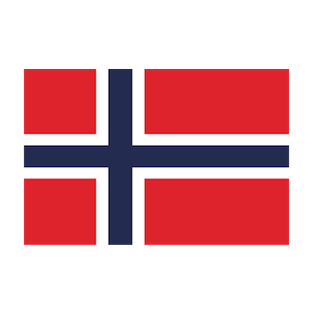 Flag for Noruega