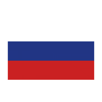Flag for Rusia
