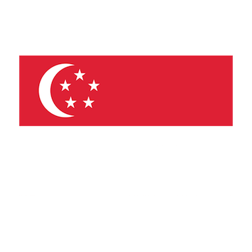 Badge/Flag Singapore