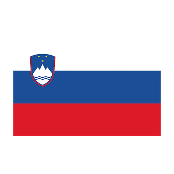 Flag for Eslovenia