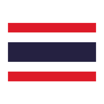 Badge/Flag Tailandia