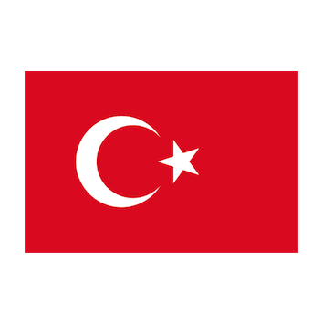 Flag for Turquía
