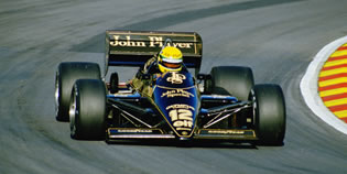Coche Ayrton Senna