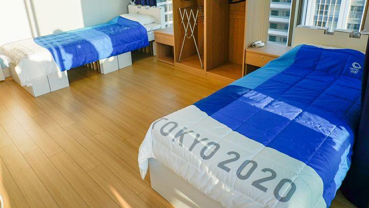 Así son las camas antisexo de los Juegos de Tokio 2020 - AS.com