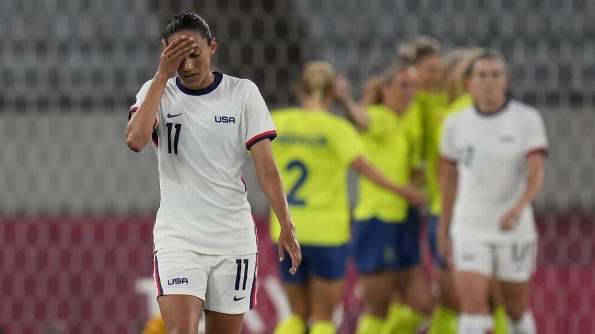 Suecia goleó a Estados Unidos en el inicio del fútbol femenino en Tokio  2020 - AS.com