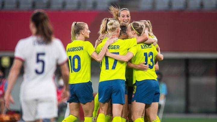Suecia ganó a Estados Unidos.