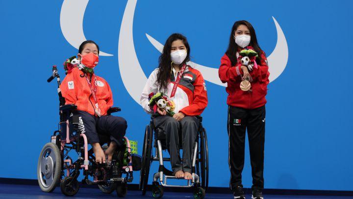 Fabiola Ramírez obtiene medalla de Bronce para México en natación