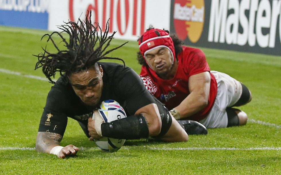 Los All Blacks arrollan a Tonga y meten a Argentina en cuartos