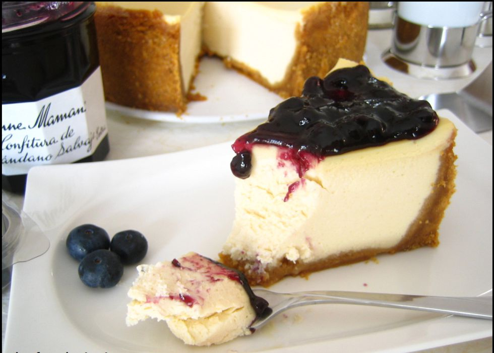 New York Cheesecake en honor a unos prometedores Jets