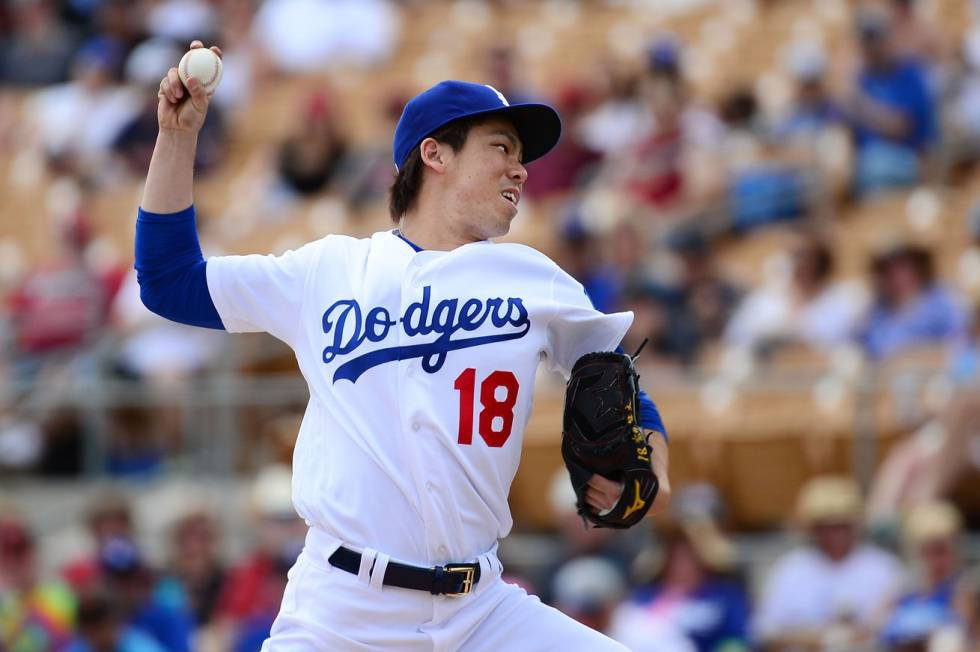 MLB | Grandes Ligas El debut soñado de Kenta Maeda con los Dodgers ...
