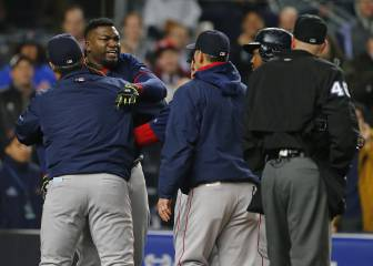 David Ortiz estalla contra los New York Yankees