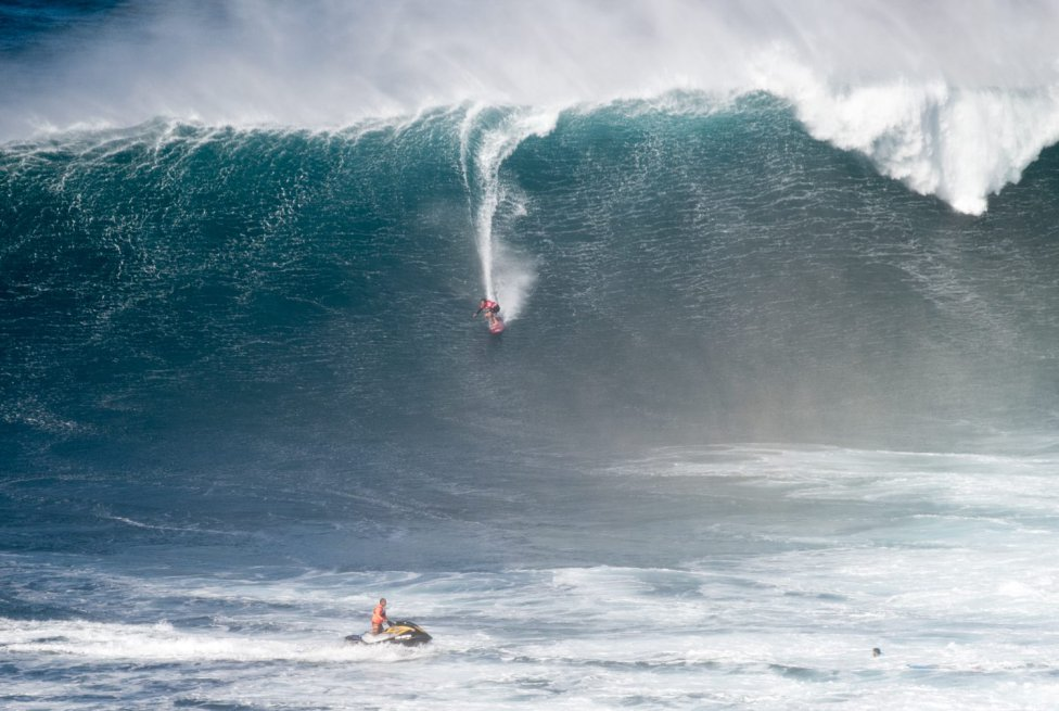 Jaws Surf Break, Haiku, Hawái (EEUU).
