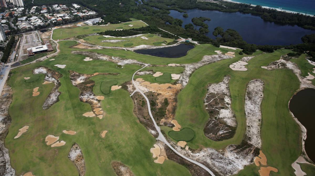 Rio abandons Olympic golf course and bans media access
