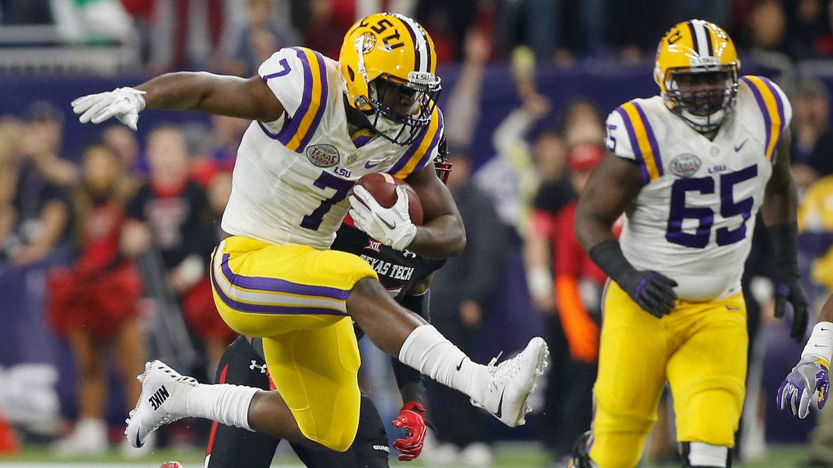 NFL Draft: Leonard Fournette to the Jaguars, an absolute beat in the backfield