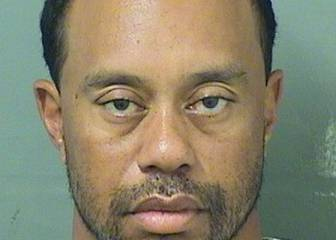 Tiger Woods, arrestado por conducir intoxicado