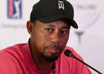 Tiger Woods dio negativo en los dos tests de alcoholemia