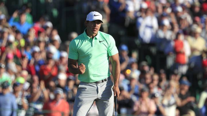 Brooks Koepka gana el US Open.