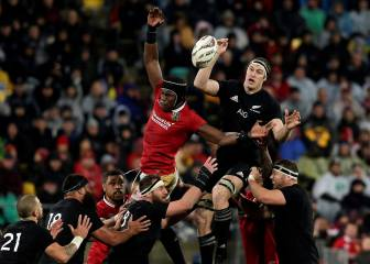 Los Lions sorprenden a los All Blacks, invictos en casa desde 2009