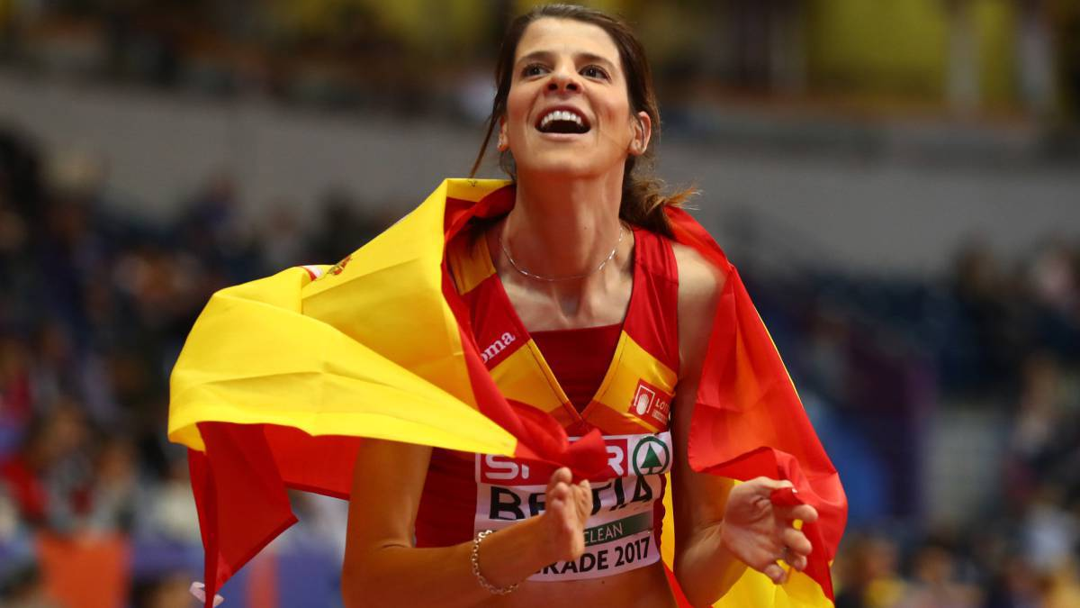 Ruth Beitia volverá a la competición en la Diamond League.