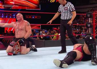 Brock Lesnar acaba con Samoa Joe en Great Balls of Fire