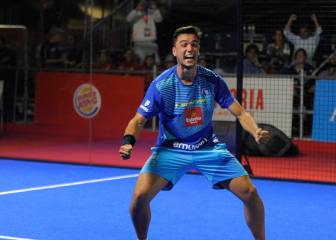 La barrera de los cuartos de final World Padel Tour