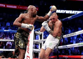 The best ringside images from the Mayweather vs. McGregor fight