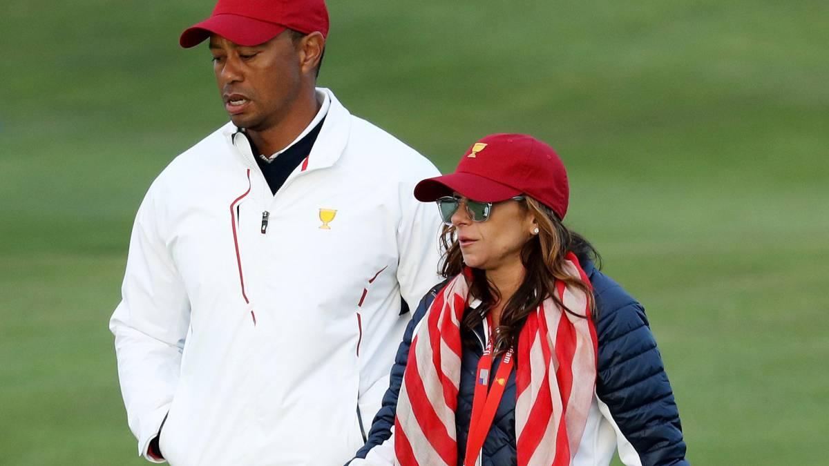golf  tiger woods  con su posible novia en la president u0026 39 s